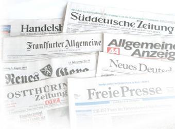 Startbild Zeitungen