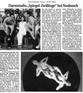 Darmstadts Spiegel Zwillinge bei Nosbusch (dt.)