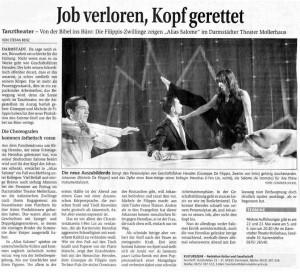 Job verloren Kopf gerettet! (dt.)