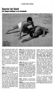 Spuren im Sand (dt.)