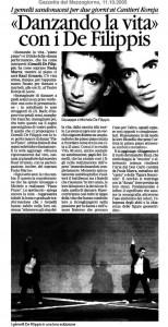 Danzando la vita con i De Filippis (Piano,Piano) (ital.)