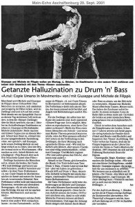"""Getanzte """"Halluzination"""" zu Drum'N'Bass (dt.)"""