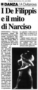 I De Filippis e il mito di Narciso (ital.)